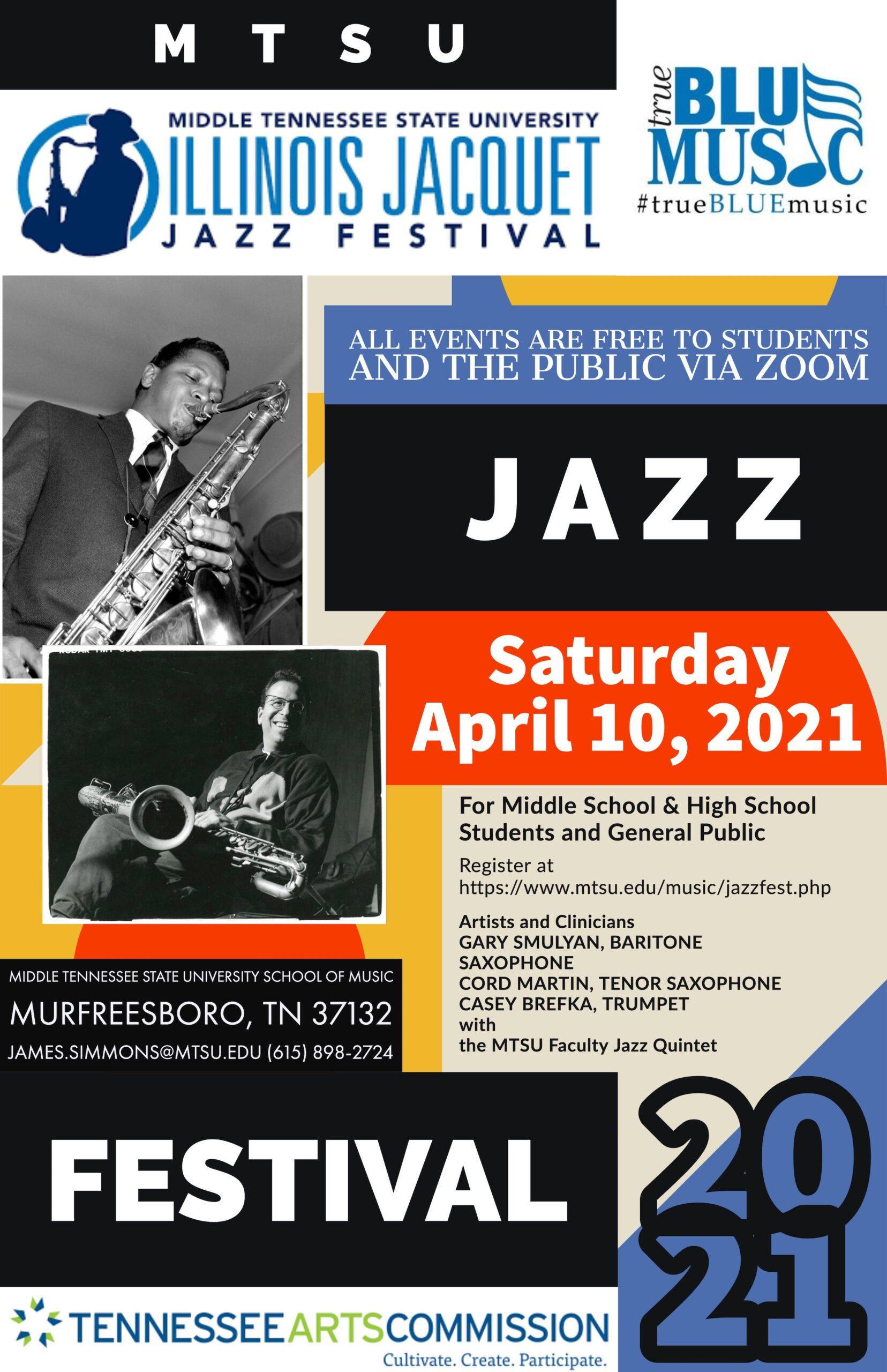 MTSU Illinois Jacquet Jazz Festival