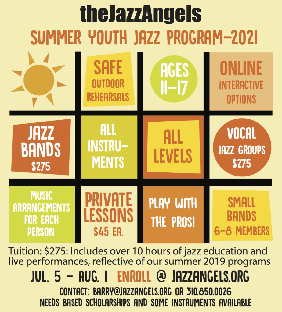 Summer Youth Jazz Program - Click the flyer to learn more